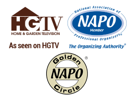 NAPO member, NAPO Golden Circle member, Featured on HGTV
